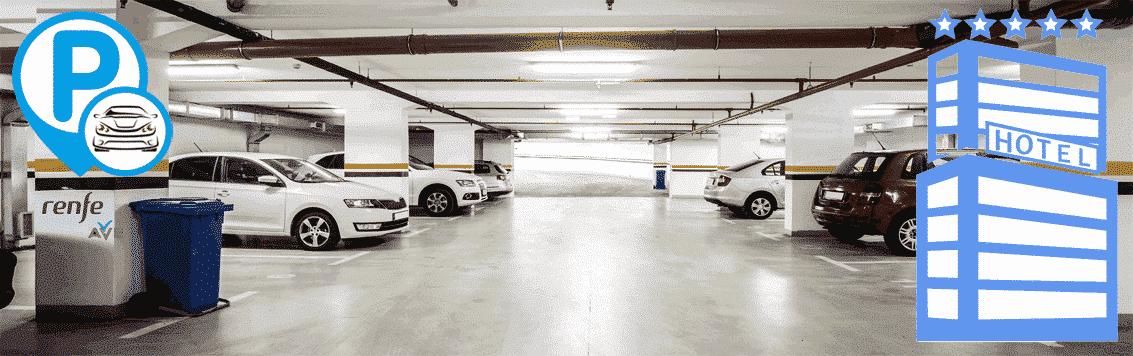 Parking hotel parkingcar