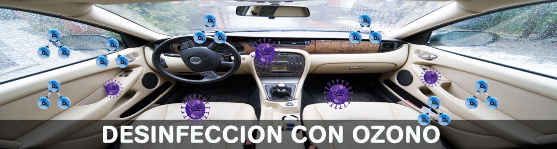 Desinfeccion con ozono-Parkingcar